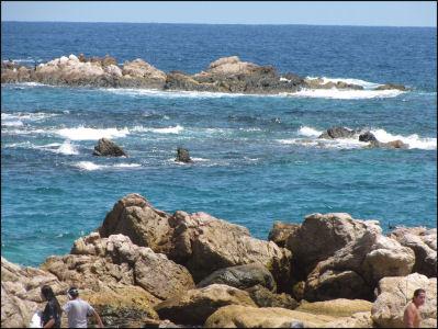 Cabo beach scene
